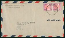 Mayfairstamps Malaysia Mennonite Central Committee Cover wwr_02089