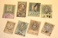 #9673,Nice Circa 1880's Austrian Revenue Lot Cat Value $200+