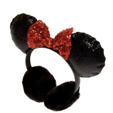 Disney Minnie Mouse Eat Muffs In Black New with Tags