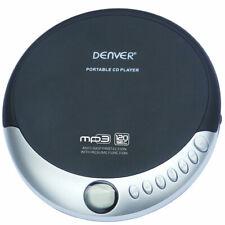 Denver DMP-389 Portable CD Player w/ MP3 Support, Anti-Shock, Resume & Earphones