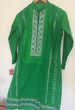 BRAND NEW WITH TAGS: pakistani kurta with embroidery