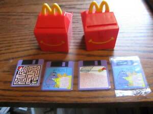 1999 McDonald's Food Foolers Transformers Happy Meal Boxes & Inserts  # DN SH