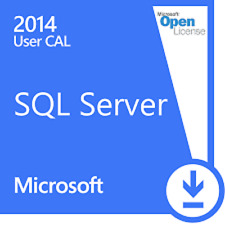 MS Microsoft SQL Server 2014 Standard (5 Nutzer) User CAL
