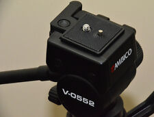 Quick Release Plate for Ambico V0552 Tripod with Fluid Type Head
