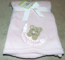 ~NWT Girls BABY STARTERS Sweet Dreams/Teddy Bear Soft Blanket Cute FS:)~