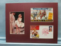 Marilyn Monroe - Seven Year Itch & How to Marry a Millionaire & First Day Cover