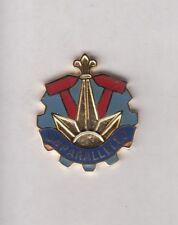 US ARMY 690th Maintenance Battalion crest DUI badge c/b clutchback P-23