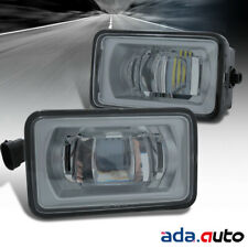 [Glass Lens] 2017 2018 Ford F-250 F-350 High POWER LED Fog Lights Lamps Pair
