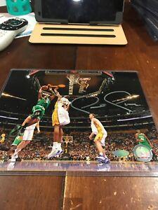 Paul Pierce Signed Boston Celtics 8x10 Photo Steiner