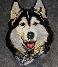 Embroidered Short-Sleeved T-Shirt - Siberian Husky Bt2297 Sizes S - Xxl