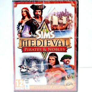 """THE SIMS MEDIEVAL PIRATES & NOBLES PC GAME REGION ALL """"NEW SEALED""""  AUZ SELLER"""