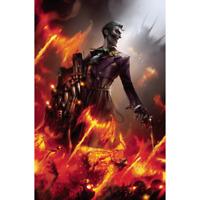BATMAN #95 CARD STOCK F MATTINA VAR ED JOKER WAR