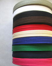 Herringbone Webbing Apron, Bunting, Tape 100% Acrylic Various Colours 25mm Wide
