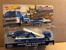 HOT WHEELS DIECAST - Team Transport - Custom '64 Galaxie 500 Ford C-800 - #15