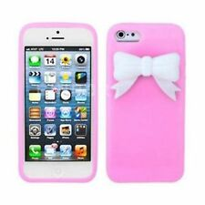 Transparent Silicone/Gel/Rubber Mobile Phone Cases & Covers for iPhone 5s