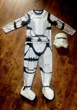 Kids Star Wars Storm Trooper Costume And Mask Size Small