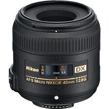 Nikon 40mm f/2.8 DX G Lens