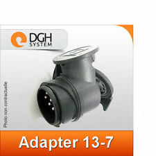 Adaptateur prise attelage (sortie 7 broches) 13-7