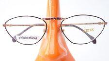 Zeiss Brille Fassung Metallgestell Damen Cateyeform schwarz frame leicht Gr M