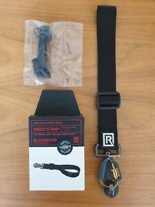 BlackRapid Wrist Strap - Black - Breathe Lightweight Series - WITH FASTENER