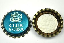Vintage Canada Dry Club Soda Kronkorken USA Soda Bottle Cap