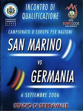 EM-Qualifikation 06.09.2006 San Marino - Deutschland