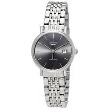 Longines Elegant Automatic Grey Dial Ladies Watch L43104726