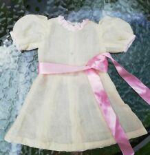robe ancienne pour poupée  ancienne, sfbj, jumeau  unis france ou raynal etc
