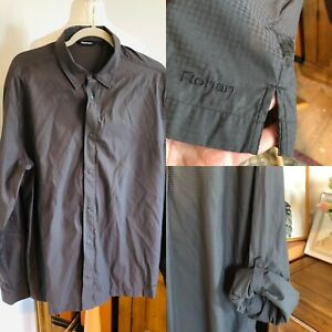 "Mens L- Rohan Aura Shirt   Odour Control Based On Silver Chloride Ptp24"""