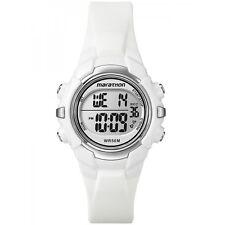Timex T5K806, Women's Marathon White Watch, Indiglo, Alarm, Stopwatch, T5K806M6