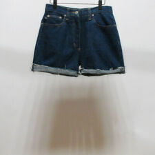 Vintage STUSSY Women's Denim Shorts Pants Slim 26inches made in usa
