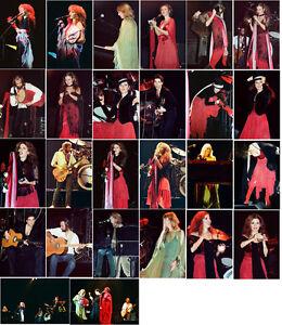 26 Fleetwood Mac colour concert photos Wembley 1979