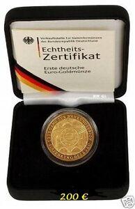 200 Euro-Goldmünze-2002-A-Euroeinführung-Währungsunion-