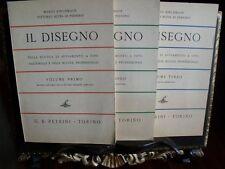 Mario Kirchmayr IL DISEGNO industriale professionale 3 volumi Corso completo