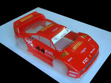 1/8 Ferrari F40 RC Car body clear 1.5mm Ofna Hyper GTP2E Serpent Slash 0100/1.5