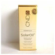 CND Solar Aceite Uñas Y Cutículas Acondicionador X3 15ml Botellas!!!
