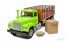 MACK R-MODEL STAKE TRUCK WITH LOAD STIEGER TRACTOR 1/34 FIRST GEAR  19-3914