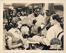 BIG BROWN EYES 1936 Joan Bennett, Alan Baxter BARBER MANICURE 10x8 LOBBY CARD