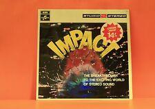 IMPACT : EXCITING STEREO SOUND (VARIOUS: DAVID ROSE/ACKER BILK & MORE) UK LP -Z