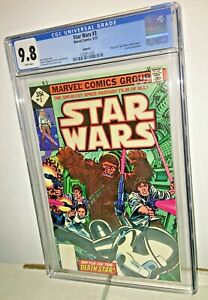 Star Wars #3, CGC 9.8, White Pages