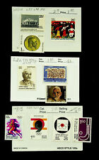 INDIA OLYMPIC GAMES FAMOUS PEOPLE UNICEF 10v FINE MINT STAMPS