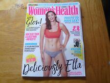 WOMANS HEALTH MAGAZINE October 17 WITH Ella Mills Kayla Itsines