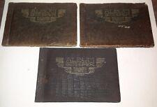 """(LOT OF 3) """"ALBUM AANGEBODEN DOOR DE FIRMA G.V.D. SPEK...1803"""" DUTCH ALBUMS"""