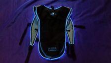 Light Up LED BLUE Camelbak Style Hydration Pack Water Backpack for Festivals!