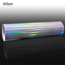 Holographic Laser Chrome Iridescent Vinyl Film Car Wrap for 7 Colors