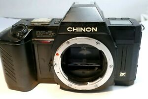 Chinon CP-7m 35mm SLR Film Camera body only - AS IS parts