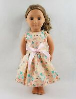 For 18''American Girl Doll Clothes Colorful Mushrooms Pattern Party Dress Gifts