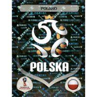 Panini WM 2018 592 Polen Poland World Cup WC 18Wappen Logo Glitzer Foil