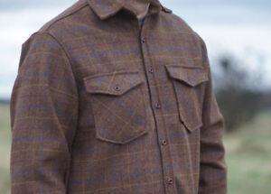 Milano Men Shooting Hunting Walking Country Men Wool Tweed Jackets/shirts