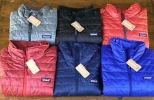 Patagonia Men's Nano Puff Jackets and Hoodys All Colors Sizes S M L XL XXL NWT